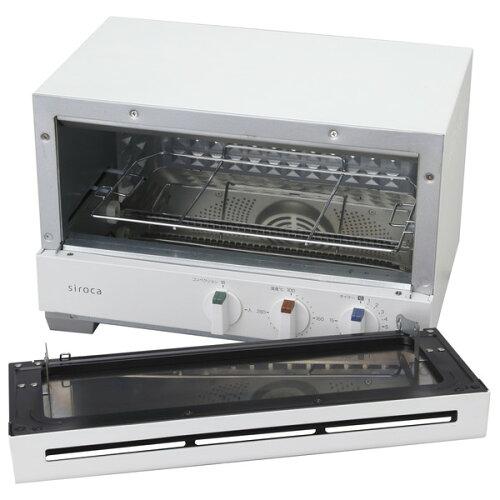 sirocaST-2A251(W)ホワイトすばやき[プレミアムオーブントースター(2枚焼き)]