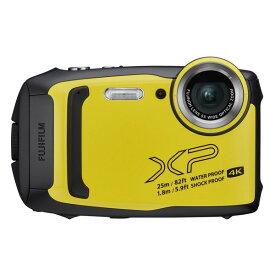 デジタルカメラ 防水 富士フィルム FinePix XP140 イエロー 耐衝撃 防塵 耐寒 メーカー直送