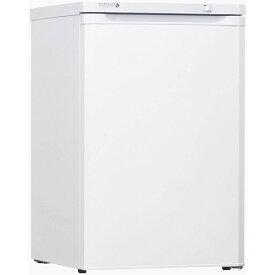日本ゼネラル・アプラィアンス FFU85R ホワイト ノーフロスト ノンフロン・アップライトフリーザー [冷凍庫(85L・右開き)]