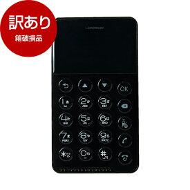 【箱破損品】Future Model RMOB-N17-01-BK ブラック NichePhone-S [SIMフリー携帯電話]【アウトレット】