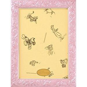 テンヨー パズルフレーム ディズニー専用 アートフィギュアパネル 108ピース用 パールピンク(18.2x25.7cm)