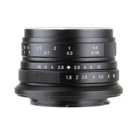 七工匠 7Artisans 25mm F1.8 ブラック フジフイルムX [交換レンズ]