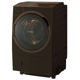 東芝 TW-127X8L(T) グレインブラウン ZABOON [ドラム式洗濯乾燥機 (洗濯12.0kg/乾燥7.0kg) 左開き]【代引き・後払い決済不可】