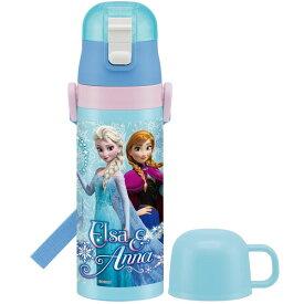 スケーター マグボトル 子供用 2WAY ステンレス水筒 コップ付き アナと雪の女王 16 ディズニー 430ml SKDC4
