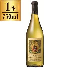 マウイワイン マウイ・ブラン 750ml 【 アメリカ ハワイ フルーツ ワイン パイナップル 】
