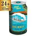 コナビール ビッグウェーブゴールデンエール缶 355ml ×24本 【 輸入ビール クラフトビール ハワイ アメリカ エール 】