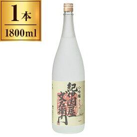 吟醸「紀伊国屋文左衛門」<金箔入> 1800ml 【 日本酒 地酒 和歌山 海南 】