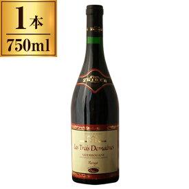 ゲロワンヌ・赤/モロッコワイン・レ・トロワ・ドメーヌ 750ml