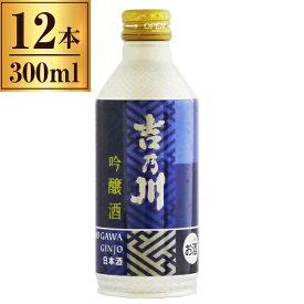 吉乃川 吟醸 スリムボトル缶 300ml ×12