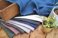 126cm幅40番手綾織ベルギー産リネン国内染めヴィンテージワッシャー加工無地■ベルギー・クルトレー地区のフラックス原料で紡績し、国内で織り上げたリネン生地です。しなやかでくったりした質感の麻生地です。