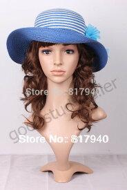 プラスティック製 女性 マネキン ヘッド かつら付き 販売
