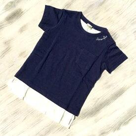 【送料無料】ターカーミニ  「ポケット付き」半袖Tシャツ 男女兼用 ユニセックス 双子 K34825