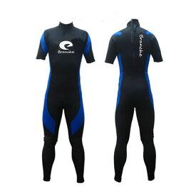 2019年ウェットスーツ シーガル スーツ ウエットスーツ Branche 3mmブルー L