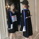 コットン オーバーサイズ  ゆったりTシャツ ワンピース カットソー チュニック Tシャツ ロンクTシャツ  ロゴワンピース 長袖 膝丈ワンピース  チュニック 大きいサイズ クルーネック ビッグシルエット 体型カバ M L 2L 3L 4L