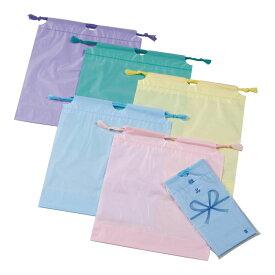 防水カラー巾着袋 指定不可 (89001A) 単品 [キャンセル・変更・返品不可]
