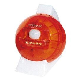 センサーライト エコパ2 オレンジ(A) (SL-613) 単品 [キャンセル・変更・返品不可]
