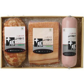 Tokachi Ikeda bacon & boneless ham sausage (YF-500) [cancellation, change, returned goods impossibility] [collect on delivery impossibility] [bundling impossibility] [lapping impossibility] [overseas shipment impossibility]