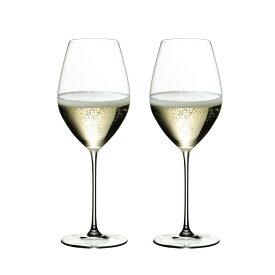 リーデル ヴェリタス シャンパーニュ ワイングラス 6449/28 (445cc) 2脚箱入 667