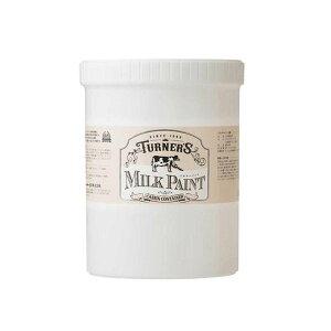 ターナー色彩 水性天然由来ペイント ミルクペイント 1.2Lボトル入り 暖色系 11・ハニーマスタード