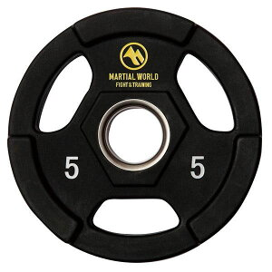 ポリウレタンオリンピックプレート 穴径50mm 5kg UP5000 [ラッピング不可][代引不可][同梱不可]