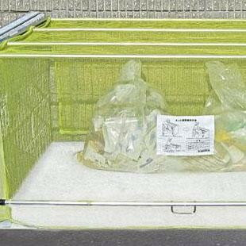 【ダイケン ゴミ収集庫 クリーンストッカー ネットタイプ CKA-1616】※発送目安:3週間 ※ラッピング不可 ※代引不可、同梱不可