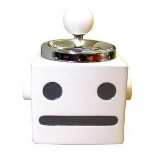 ロボタン ターンアシュトレイ(灰皿) WH AR-969