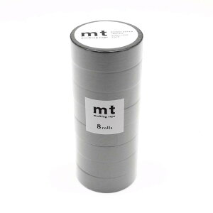mt マスキングテープ 8P マットグレー MT08P405