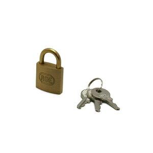 GY037 シリンダー南京錠25mm 鍵番指定 3本キー 0071037