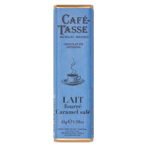 CAFE-TASSE(カフェタッセ) 塩キャラメルミルクチョコ 45g×15個セット [ラッピング不可][代引不可][同梱不可]