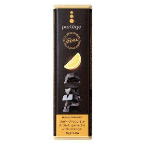 perlege(ペルレージュ) ステビア ダークチョコ&オレンジガナッシュ 42g×15個セット [ラッピング不可][代引不可][同梱不可]
