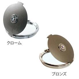 SENKO(センコー) ラウンドクリスタル コンパクトミラー クローム・514546