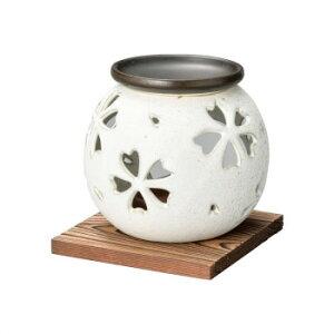富仙白マット茶香炉 M-1603