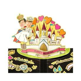アルバムポップアップ フェイスイン Wedding Castle KPUF-08