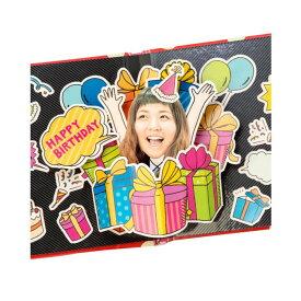 アルバムポップアップ フェイスイン Birthday Box KPUF-11