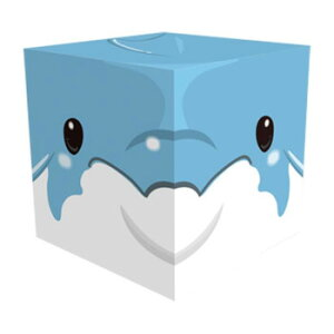 Cube Box 小(ソーダキャンディ5個入) イルカ 10個セット CB511