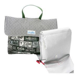namioto 防災頭巾カバー アメリカンナンバー ブラック ybf127044