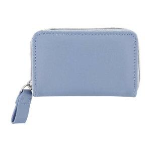 FLOWERING フラワーリング カードケース シンプル ブルー GCC0006-BL