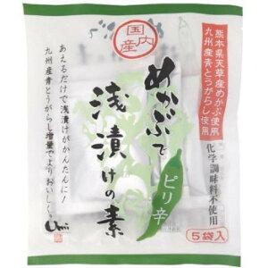 めかぶで浅漬けの素 ピリ辛 (7g×5袋)16セット J10-003 [ラッピング不可][代引不可][同梱不可]