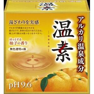 温素柚子の香り15包 [キャンセル・変更・返品不可]