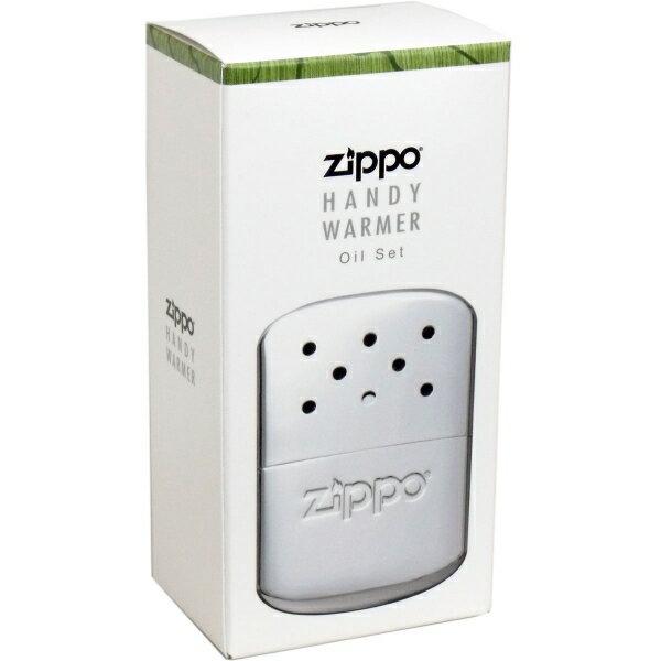 ZIPPO(ジッポー) ハンディウォーマー オイル充填式カイロ ZHW-15 [キャンセル・変更・返品不可]