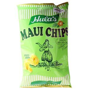 フラ印 マウイチップス ハワイアンサワークリーム味 150g [キャンセル・変更・返品不可]
