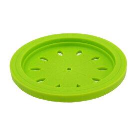 スキッとシリコーン 排水口カバー15cm グリーン [キャンセル・変更・返品不可]