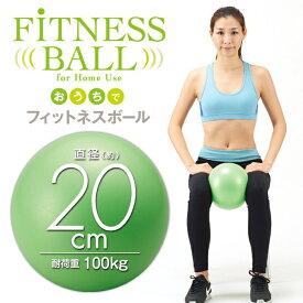 おうちでフィットネスボール 20cm(エクササイズ バランスボール)(Fitness ball) [キャンセル・変更・返品不可]