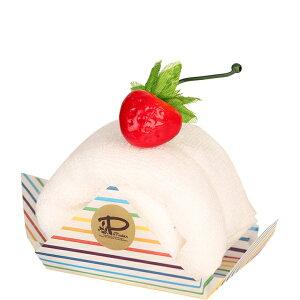 バニラ 今治 ケーキタオル ロールケーキ ハンカチ雑貨 お返し プチギフト [日本製] [キャンセル・変更・返品不可]