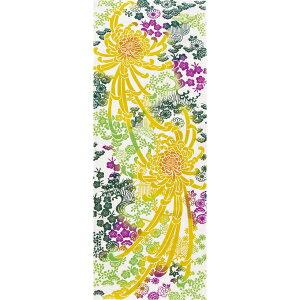 注染 手ぬぐい 糸菊 日本の伝統技法 和柄 手拭い [日本製] [和布華] [キャンセル・変更・返品不可]