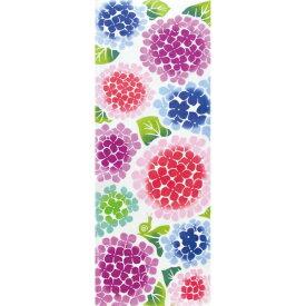 注染 手ぬぐい 紫陽花とカタツムリ 手拭い [日本製] [和布華] [キャンセル・変更・返品不可]