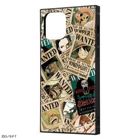 iPhone 12 / 12 Pro /ワンピース/耐衝撃ハイブリッドケース KAKU/手配書 [キャンセル・変更・返品不可]