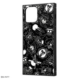 iPhone 12 / 12 Pro /ワンピース/耐衝撃ハイブリッドケース KAKU/海賊旗マーク [キャンセル・変更・返品不可]