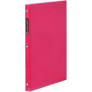 マルマン A4 プラスチックバインダー スリム セプトクルール ピンク [F481B-08] [キャンセル・変更・返品不可]