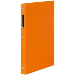 マルマン A4 プラスチックバインダー ワイド セプトクルール オレンジ [F582B-09] [キャンセル・変更・返品不可]